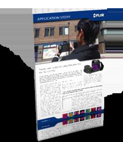 Inspections des murs extérieurs à l'aide de caméras thermiques de haute précision